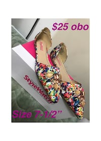 multi-color leather flats with box Lloydminster, S9V 1H3