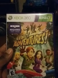 Xbox 360 Kinect Adventures game case Rocky Mount, 27801