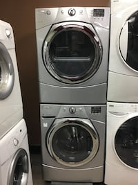 """27"""" WHIRLPOOL FRONT LOAD DRYER/WASHER SET COLOUR GREY  TORONTO"""