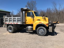 2006 Sterling 8500 Dump Truck with Salter. Runs great