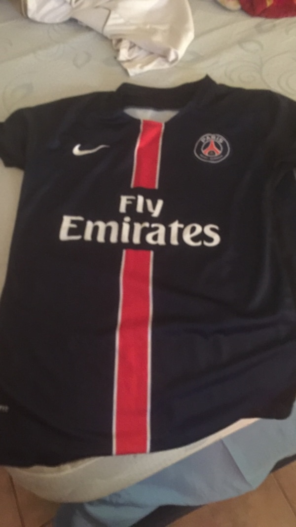 5687f283d526 Used nike fly emirates black and red jersey for sale in Islip - letgo