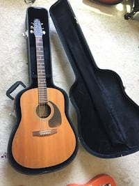 Seagull S6 acoustic guitar w/case Worcester, 01604