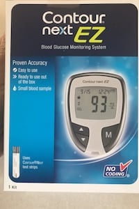 "Blood Glucose Monitor "" CONTUR NEXT EZ"" & 3 boxes of Lancets Elkridge, 21075"