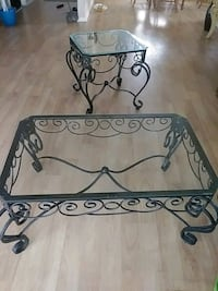 two wrought iron tables Deltona, 32738