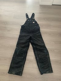 Carhartt lined winter overalls  Airdrie, T4B 3Z9
