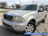 2004 *Lincoln Aviator* AWD ULTIMATE FULLY LOADED 3RD ROW WE FINANCE WARRANTY Akron, 44301
