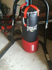 Everlast mma heavy bag with stand Richmond, 77406
