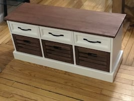 Brand new solid wood Storage bench