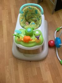 Walker, jumper and baby swing all for $45 Montgomery Village, 20886