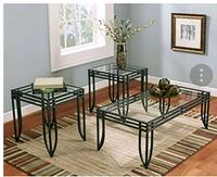 3 piece black coffee table set Westminster, 80234