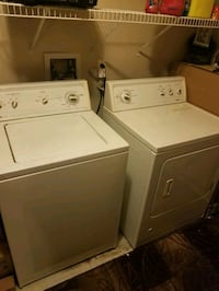 Washer and dryer kenmore set