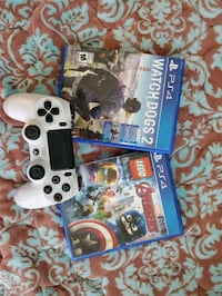 PS4 controller and games Surrey, V3T 0J5