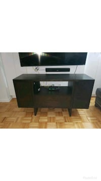 West Elm Chocolate Wood Media Console TV Stand   New York, 10018