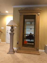 Dining room and Curio Cabinet with lamp Lorton, 22079