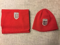 England hat and scarf Langley, V2Y