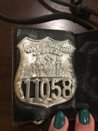 Vintage Police Badge  Whitchurch-Stouffville, L4A