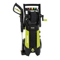 Sun Joe 2030 PSI 1.76 GPM 14.5 AMP Electric Pressure Washer with Hose Reel, Green London