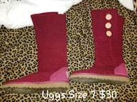 Womens Uggs Size 7 Never Worn Charles Town, 25414