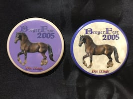 2005 Breyer Fest pin set