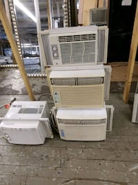 Recycled air-conditioners