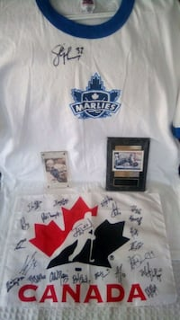 Toronto maple leaf and team Canada autographs Richmond Hill, L4C 0B4