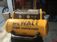 DeWALT oil air compressor 4gallon works great!!! Woodbine, 21771