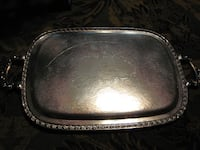 Silver Serving Tray Smithville