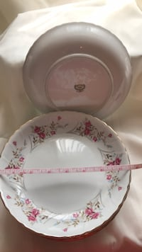 """7.5"""" shallow china bowls $2.00 each or all 6 for $10 Sayreville, 08859"""