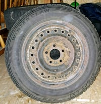 Four 195/65/R15 Winter Rims and Tires(Winter Claw) Barrie, L4M