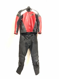 Used and bruised leather motorcycle suit Beaverton, 97006