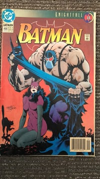 Batman Knightfall DC Comic book. Bel Aire, 67220