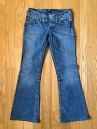 Silver Jeans Flared Denim Jeans