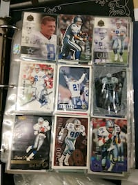 Football sports collection cards notebook for over 1000 cards collecti
