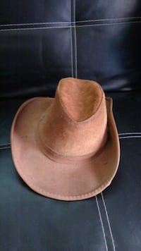 Mens leather hat Falling Waters, 25419