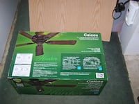 """hunter Outdoor Ceiling Fan 52"""", New in Box Carroll County, MD, USA"""