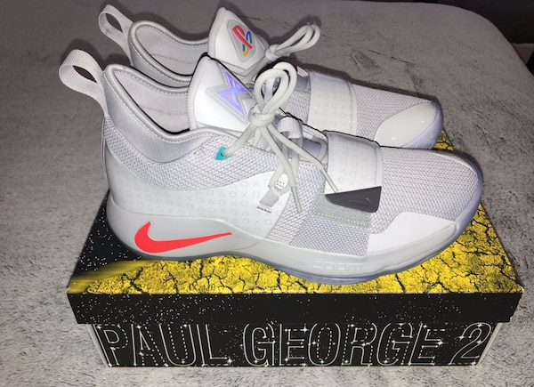 da7d5893693a Used NEW Nike Paul George PG 2.5 Playstation Men s Size 11.5 for ...