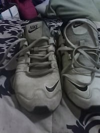 pair of gray Nike basketball shoes Jamestown, 14701