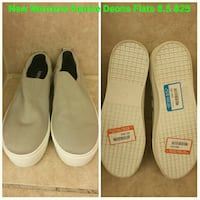 pair of white-and-black slip on shoes Toronto, M3L 1Y3