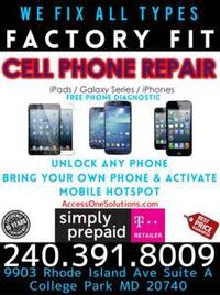 iPhone, iPad, Galaxy Repair, Unlock & Activations  Silver Spring, 20910