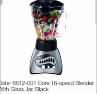 $30 Oater 16- Speed Blender With Glass Jar in Black Toronto, M5V