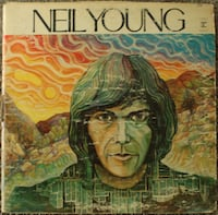 Neil Young Vinyl Record Davis