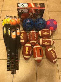 4 for $20 NEW KIDS SPORTS TOYS  Los Angeles, 91326
