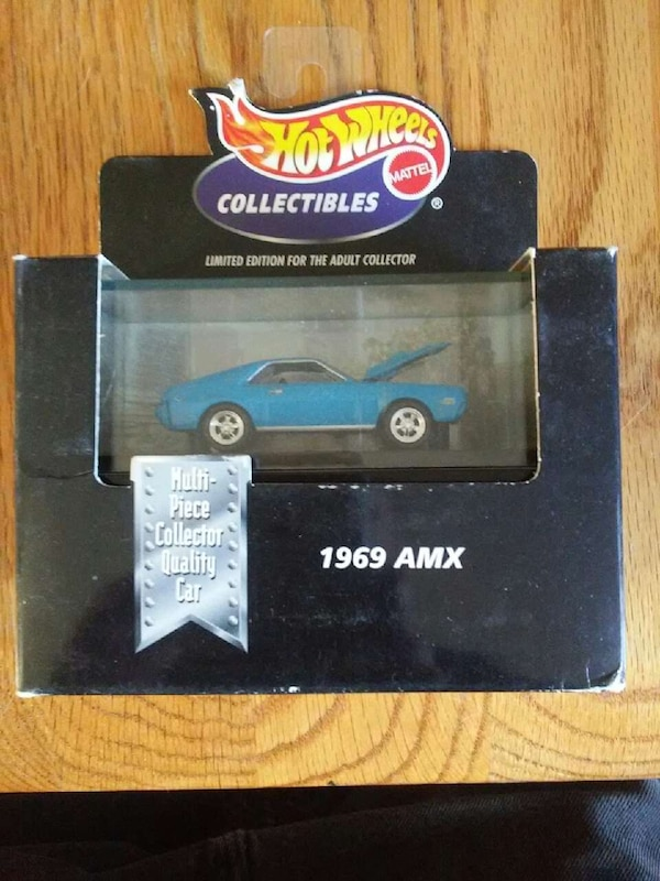 100% hot wheels 1969 amx