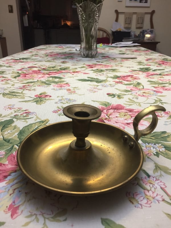 Brass  Candle Holder 528a2868-0992-4b74-a445-7d9cfa2baf6a