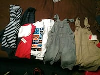 toddler's assorted clothes Mobile