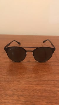 black framed Ray-Ban aviator sunglasses Montréal, H2C 2P2