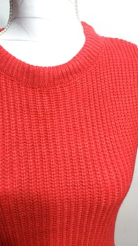 $15 - Thick Knee-Length Coral Sweater Dress Toronto