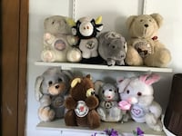 assorted animal plush toys Des Moines, 50316