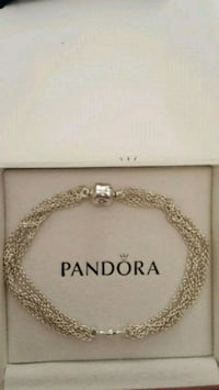 New Authentic Pandora Silver Bracelet Toronto
