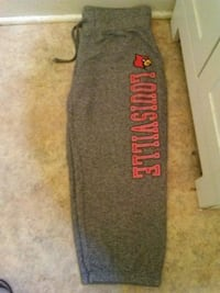 gray and red Victoria's Secret PINK sweatpants Louisville